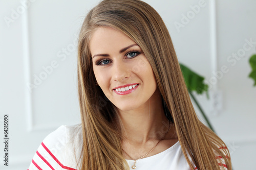 Beautiful girl with gorgeous face