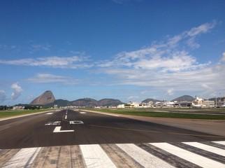 Sugarloaf from airport, Rio de Janeiro
