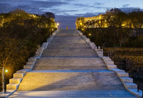 Potemkin Stairs in Odessa Ukraine - 64315484