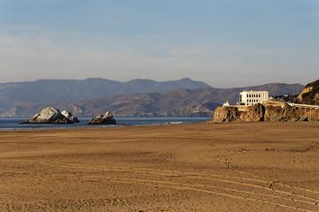 Cliff House and Ocean Beach San Francisco