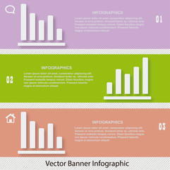 Vector Banners Infographic