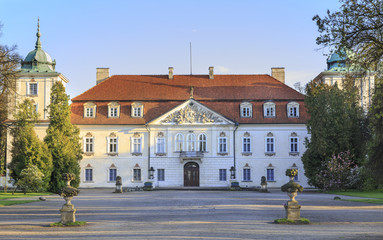 The baroque Palace of Radziwill family, Nieborow, Poland