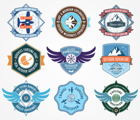 Exploration badges