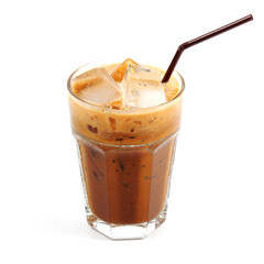 Thai style ice coffee