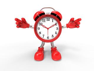 character alarm clock