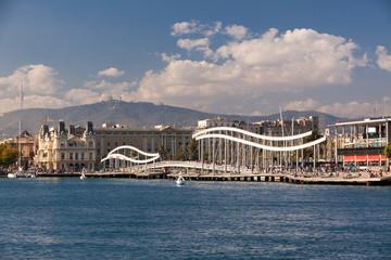 Rambla del Mar, Porto di Barcellona, Spagna