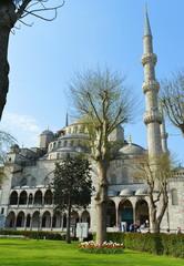 The Blue Mosque, (Sultanahmet Camii), Istanbul, Turkey