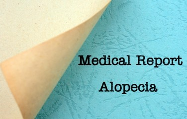 Medical report- alopecia