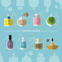Colorful Perfume