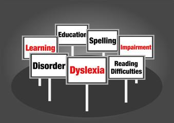 Dyslexia signs