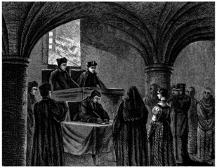Tribunal of the Inquisition - 15th-16th century