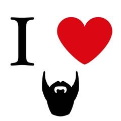 I love beard