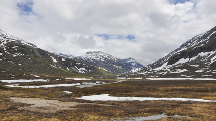 Trollstigen, Bergstrasse, Passhöhe, Sommer, Norwegen