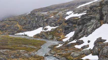 Trollstigen, Passstrasse, Sommer, Norwegen, Skandinavien