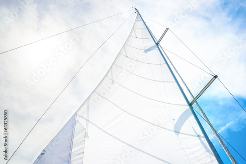 Foto op Plexiglas Zeilen Sailing