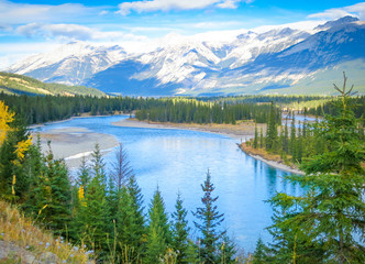 Beautiful Canadian Landscape, Alberta, Canada