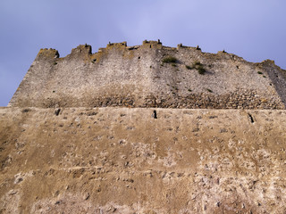 italy, tuscany, Capalbio, external walls of the old town
