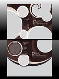 Bi Fold Professional Parlor Brochure poster