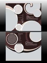 Bi Fold Professional Parlor Brochure