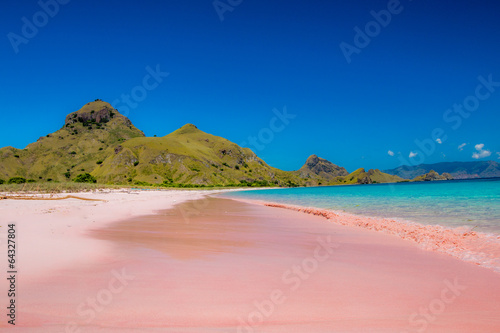 Foto op Canvas Indonesië Pink beach, Indonesia