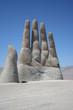 Leinwanddruck Bild - Mano del Desierto