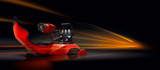 Chair car racing simulator - 64329067