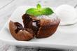 chocolate fondant - 64331684