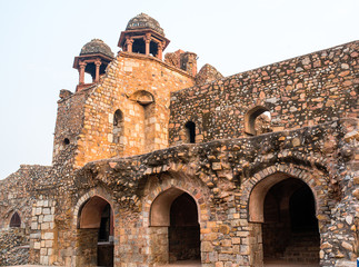 Purana Qila  fort in New Delhi, India
