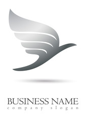 Business logo bird design