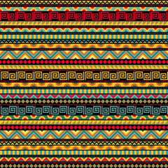 Abstract Seamless Ethnic Pattern