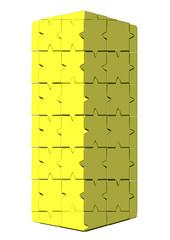 sarı sütun puzle