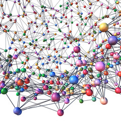 Network 3d diagram