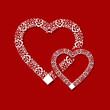 ornamental heart frame