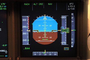 airline flight instrument