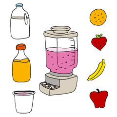 Juice Blender Item Set