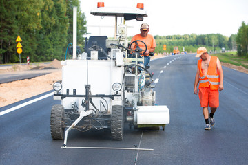 Pavement Asphalt Road Marking Paint and Striping