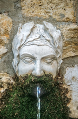 Alter Brunnen in Mougins