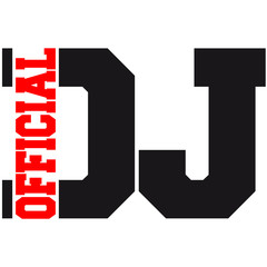 Official DJ Logo