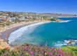 Crescent Bay of Laguna Beach, Orange County, California USA