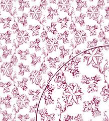 Summer garden – seamless pattern