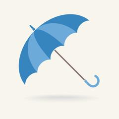 Blue Umbrella, vector icon
