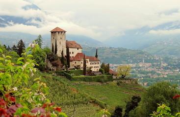Schloß Lebenberg Marling Südtirol Italien