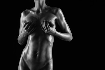 naked female body