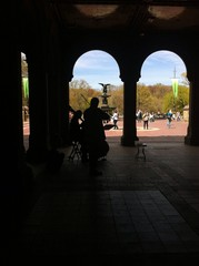 Musicians in the Bethesda Fountain