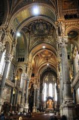 overview Basilica of Notre-Dame de Fourviere