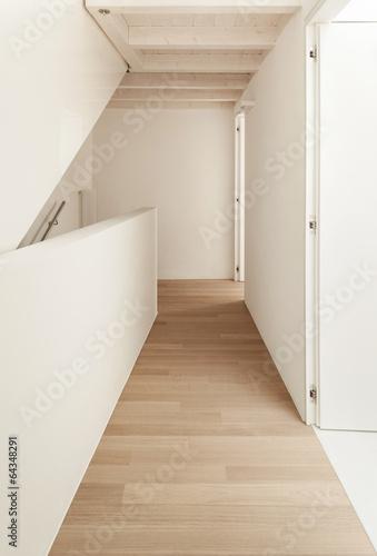 interior, empty corridor