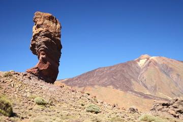 Teide National Park Roques de Garcia in Tenerife