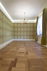 Interior of empty living room