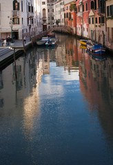 Italy, Venice, walk along the canals