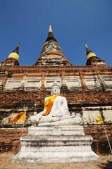 Wat Yai Chaimongkol , Ayutthaya , Thailand